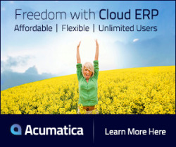 Take control of your business, play to your strengths, empower your people, unlock the cloud...Replace Oracle, JD Edwards, SAP, Dynamics GP (Great Plains) , Dynamics SL (Solomon) , MAS90 , MAS 200 or MAS500 with a real web integrated CRM and ERP business software solution...Get to SAAS Fast with Acumatica...the cloud ERP-Acumatica Freedom With Cloud ERP