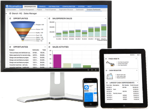 Acumatica Customer Management