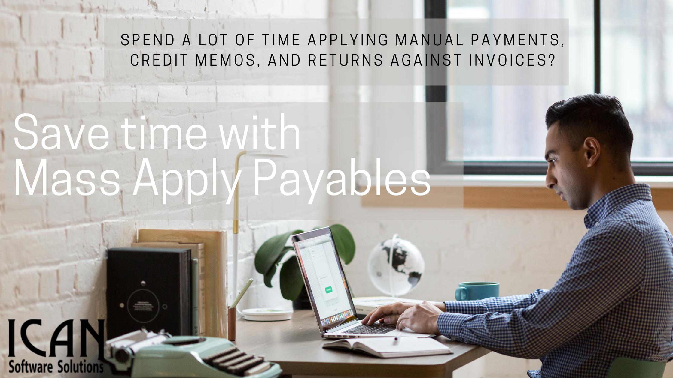 mass apply payables