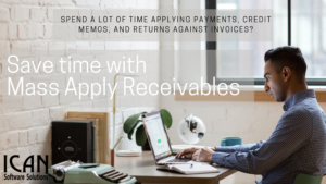 ICAN - mass apply receivables - Our Products