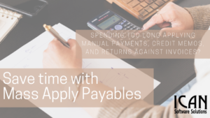 ICAN Mass Apply Payables for Dynamics GP Our Products