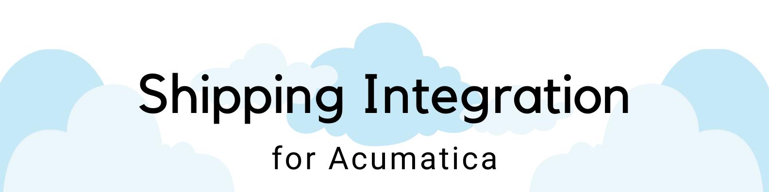 ICAN Shipping Integration for Acumatica header