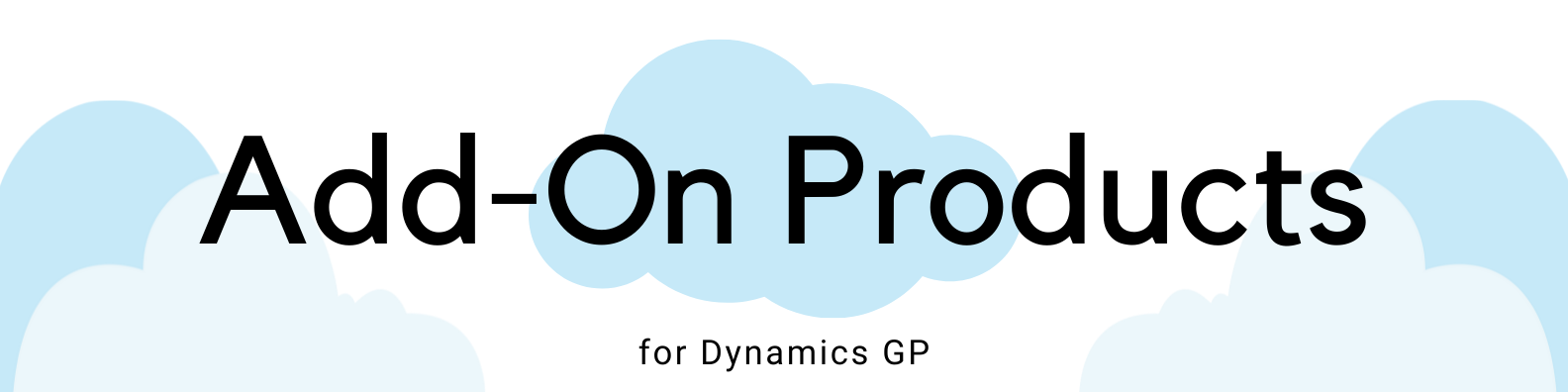 ICAN Header Add-On Products Dynamics GP