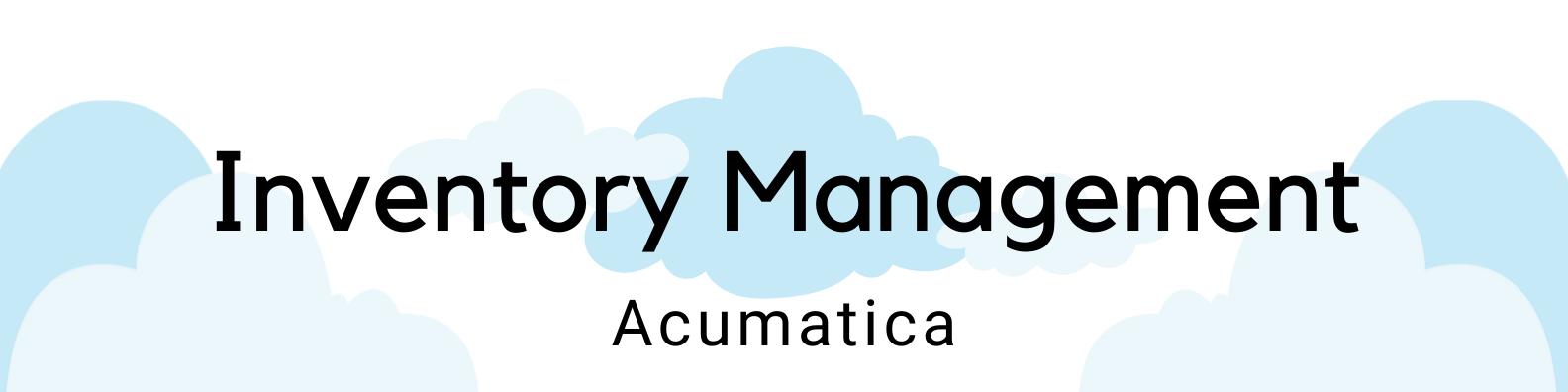 Inventory Management Acumatica header ICAN