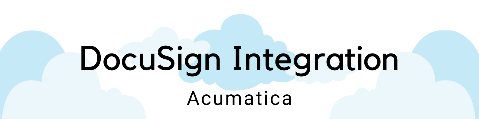 ICAN Clouds Header DocuSign